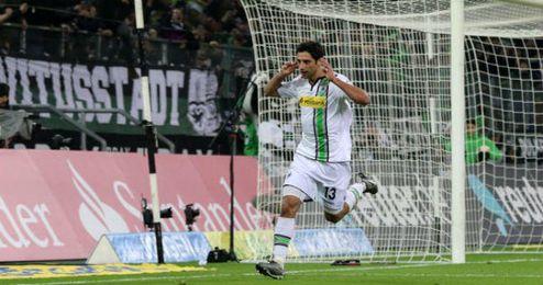 Stindl anotó el segundo gol del Borussia.