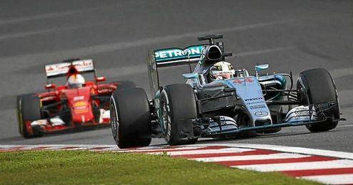 Se apropió de información confidencial relativa al último Gran Premio de Hungría.