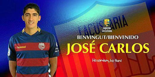 José Carlos Fernández, nuevo jugador del LLagostera.
