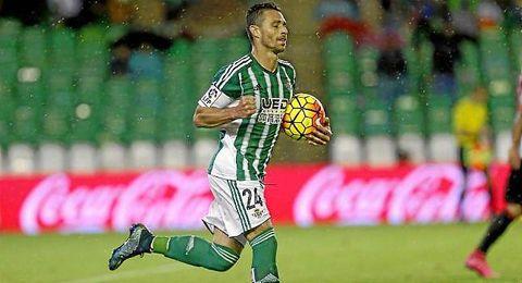 Rubén Castro, celebrando un gol.