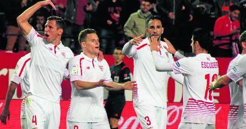 El Sevilla llega al derbi en su mejor posición clasificatoria de este curso.