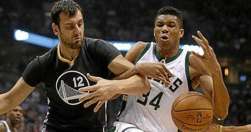Los Bucks vencieron a los Warriors.