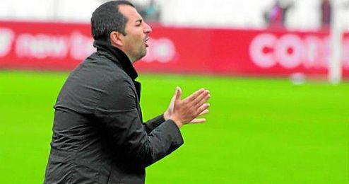 En la imagen, Diego Martínez, técnico del Sevilla Atlético.