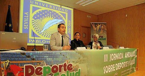 El secretario general para el Deporte, Antonio Fernández, inauguró el evento.