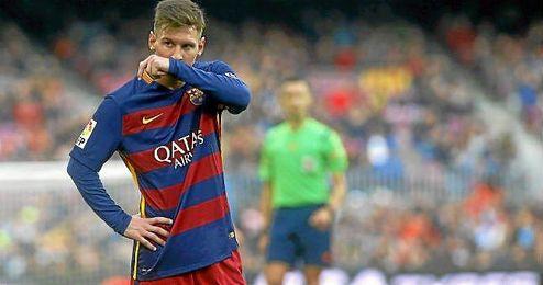 Leo Messi, en un encuentro con el FC Barcelona.