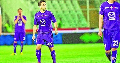 Giuseppe Rossi, con la Fiorentina.