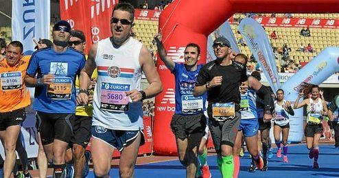 Imagen de la Zúrich Maratón de Sevilla del pasado año 2015.