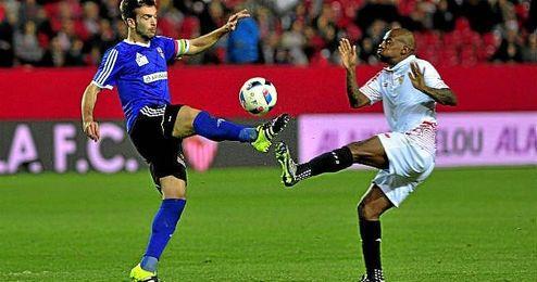 Pese a no haber jugado mucho hasta ahora, Kakuta podría continuar en el Sevilla.