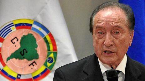 En la imagen, Eugenio Figueredo, ex presidente de la Conmebol.