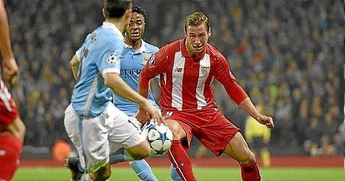 Krychowiak renovó hace un mes con el Sevilla hasta 2019.