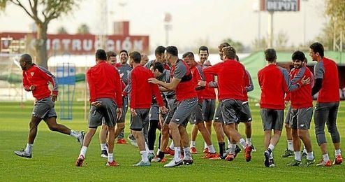 Volverán a entrenar mañana.