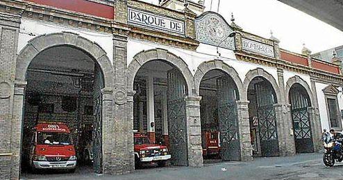 Imagen de archivo del Parque de Bomberos de Sevilla.