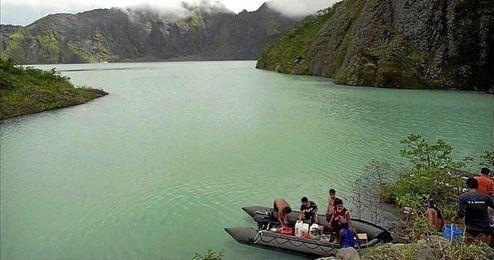 Los rescatados pertenecen a la asociación Climbers Philippines.