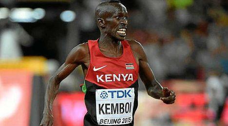 Kemboi correrá en la San Silvestre Vallecana.