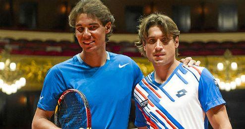 Nadal y Ferrer vuelven a las pistas.