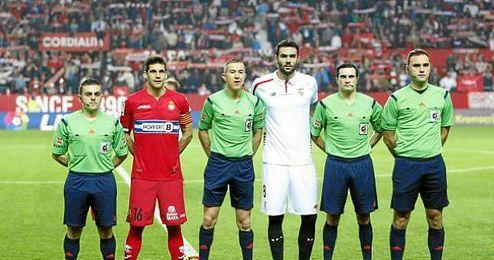 Iborra portó el brazalete de capitán ante el Espanyol.
