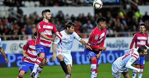 A�n as�, el balance de enfrentamientos entre estos dos equipos en Granada es favorable a los locales.