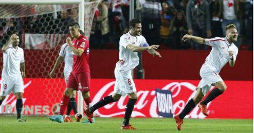 Iborra cree que el Sevilla va en marcha ascendente.
