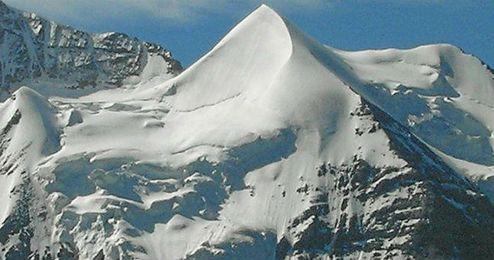 El monte Silberhorn, donde tuvo lugar el suceso.