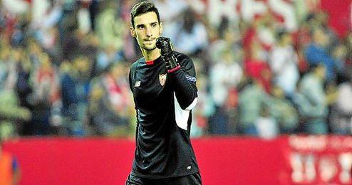 Rico mantuvo la portería a cero en cuatro de los cinco choques; en el de Copa fue David Soria.