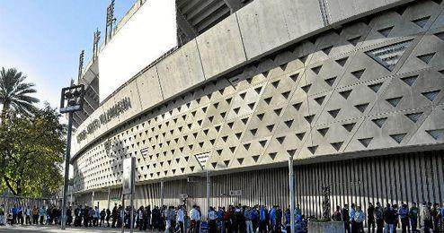 Imagen de archivo del Estadio Benito Villamarín.