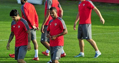 Mariano, en un entrenamiento.