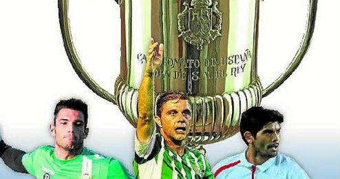 Adán, Joaquín y Banega son los únicos que han ganado la Copa del Rey.