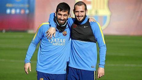 Arda Tur�n y Aleix Vidal debutan hoy en copa.