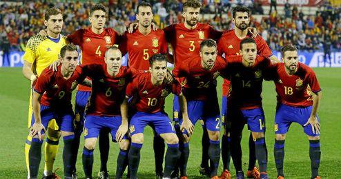 La selección española de fútbol conserva su buen puesto en el ranking FIFA.