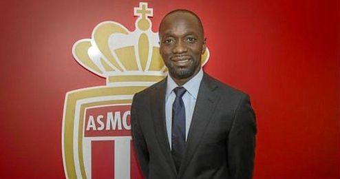 Claude Makelele, en su presentación con el AS Mónaco.