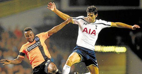 Fazio quiere irse del Tottenham.