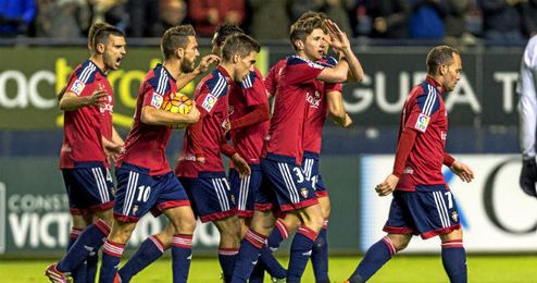Osasuna está este año en la parte alta de la Segunda División