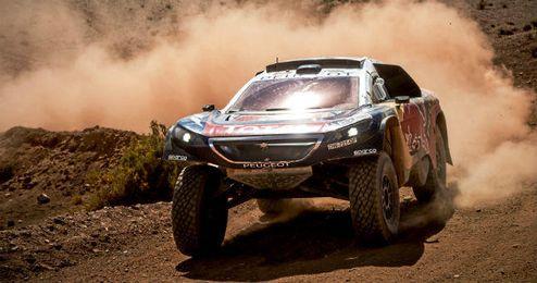 Sáinz estaba realizando un gran Dakar
