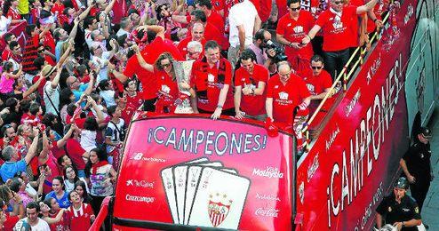 El Sevilla es tambi�n el 14� con m�s t�tulos nacionales y el 19� mejor coeficiente UEFA.
