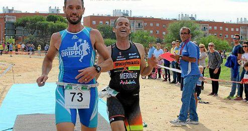 Imagen de uno de los atletas del Club Orippo en una carrera provincial.