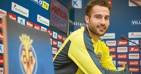 Mario Gaspar conf�a en que el Villarreal vuelva a mejorar.