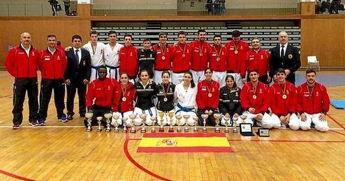 Imagen de la Real Federación Española de Karate.