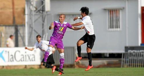 Borja Laso puso el 0-1.
