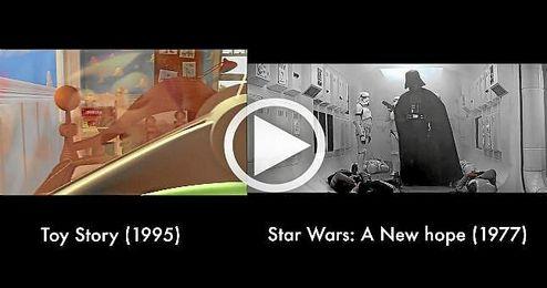 (V�deo) El tributo de Pixar al cine
