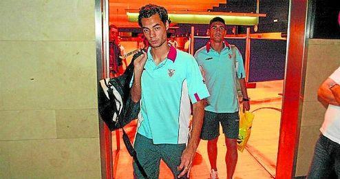 Álex Ortiz, en la imagen durante su etapa en el Sevilla Atlético, se enfrenta mañana a su antiguo club.