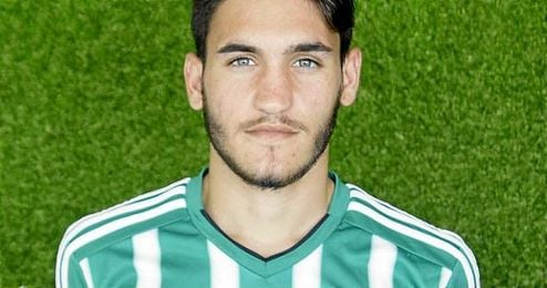 En la imagen, el recientemente cedido al Gerena, Sergio Navarro.