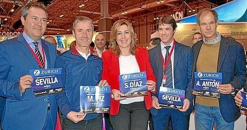Juan Espadas ha destacado el Zurich Maratón de Sevilla en FITUR.
