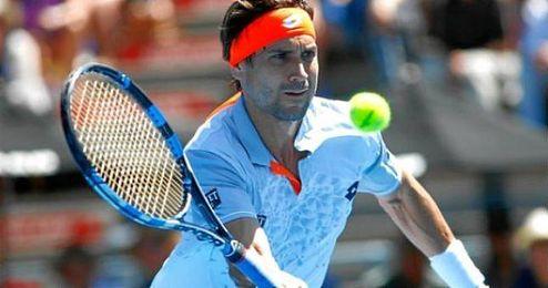 En la imagen David Ferrer, que fue semifinalista en Australia en 2011.