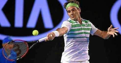 Federer se ha impuesto a Dimitrov alcanzando su triunfo 300 en Grand Slam.