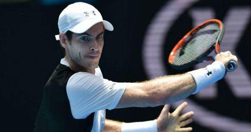 Andy Murray en el Abierto de Australia