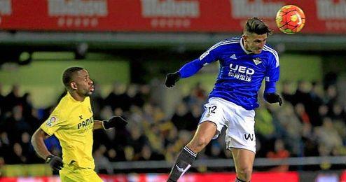 Piccini en el partido frente al Villarreal de la semana pasada.