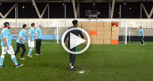 Los increíbles trucos de los jugadores de Arsenal y Manchester City