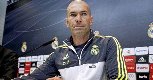 Zidane prácticamente no habló del Betis en la rueda de prensa