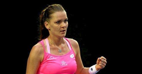 Radwanska fue semifinalista en 2014.