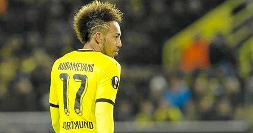 Aubameyang no se irá del Dortmund.